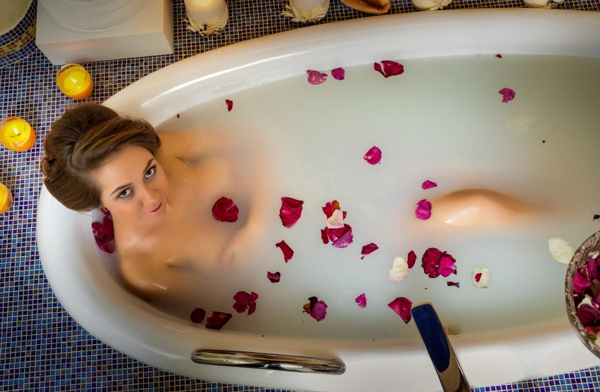 принимать ванну для похудения